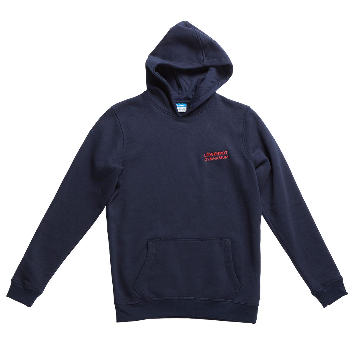 kapuzensweat-legere-blau