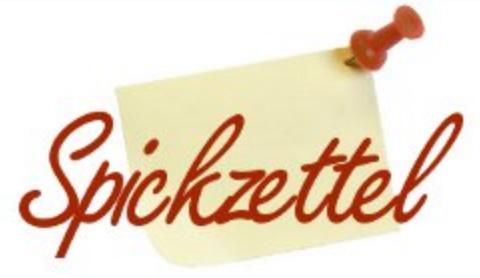 Logo Spickzettel