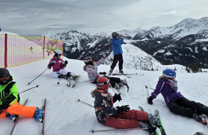 Skifreizeit in den Osterferien für Klasse 5 bis 8