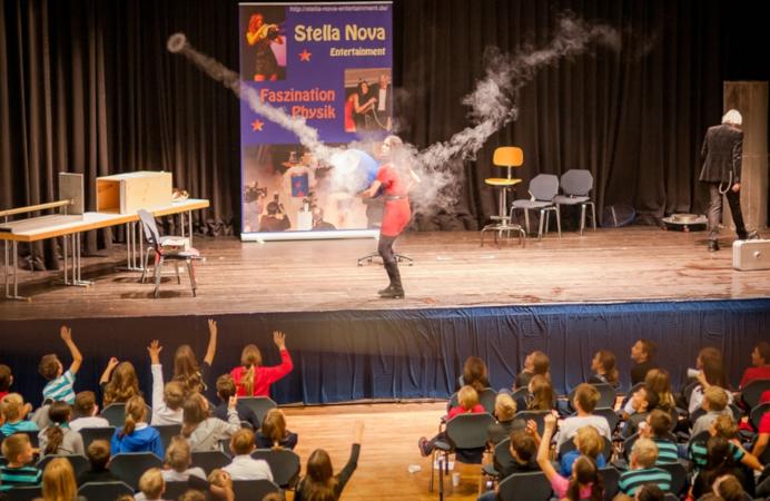 Spektakel der Extraklasse: Physikshow mit