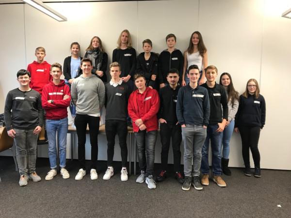 Workshop der Schulwegbegleiter des LÖWENROT-Gymnasiums