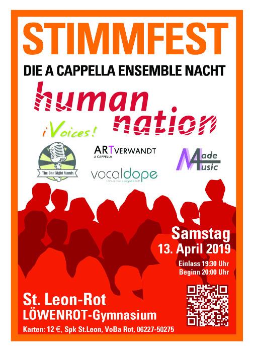 StimmFest 2019: Die A Cappella-Ensemble-Nacht