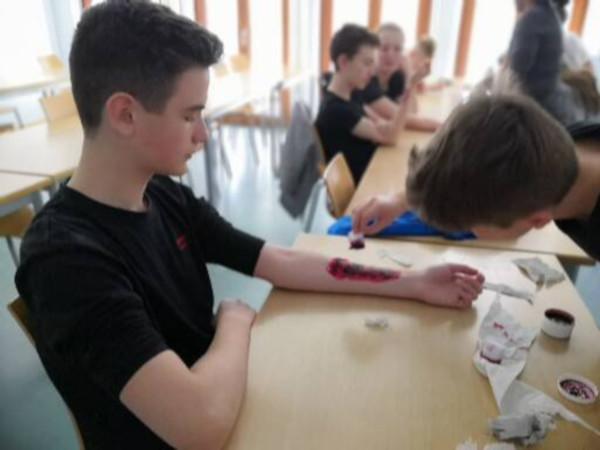 Eine AiM stellt sich vor: Die Schulsanitäter