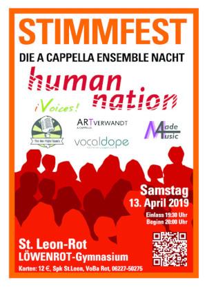 Musikalisches Spektakel: StimmFest 2019!