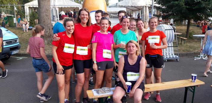 Team LÖWENROT: Laufend gegen Krebs