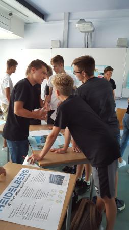 Berufsmesse - Schüler der Klassenstufe 10 präsentieren Berufe