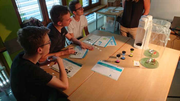 Klimastiftung erprobt 2 Workshops am LÖWENROT